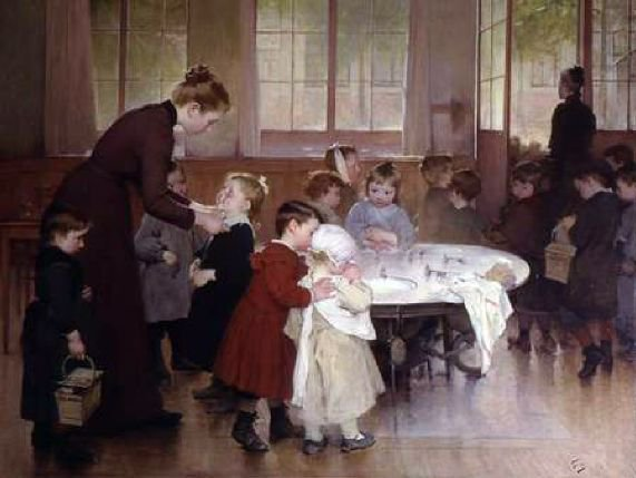 Henri Jules Jean Geoffroy (1853-1924) : école obligatoire / école maternelle