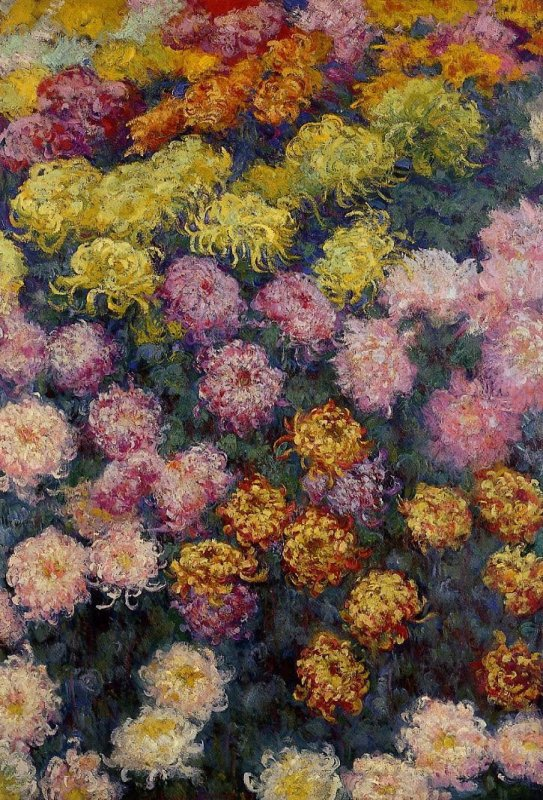 Impressions d ' automne...  Claude Monet  ( quelque chose de Séraphine de Senlis...)