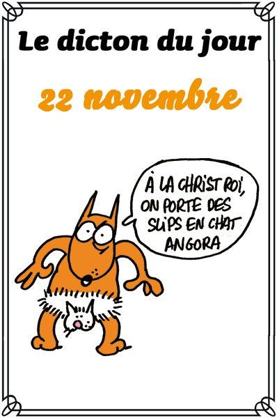 """Le dicton du jour... ( Ayé , """"Charlie""""  is back  ;-)  )"""