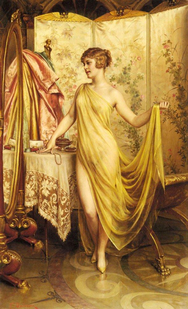 Toilette et miroirs...