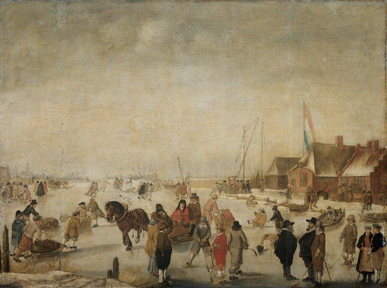 Barend Avercamp   (1612-1679)   /  1630