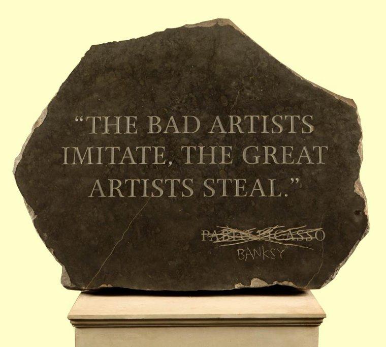 La citation et le dessin du jour de Banksy