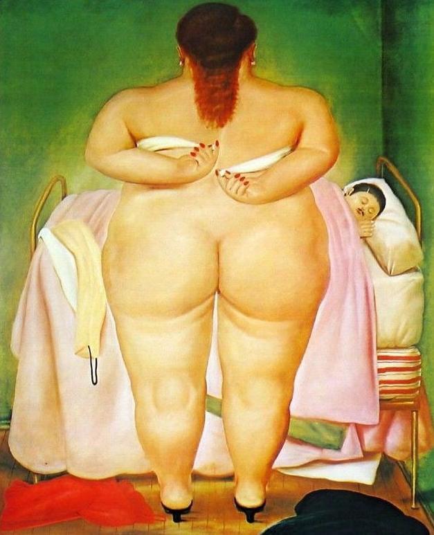 Fernando Botero  ( un copain de Solange  ;-) )   ... dodo