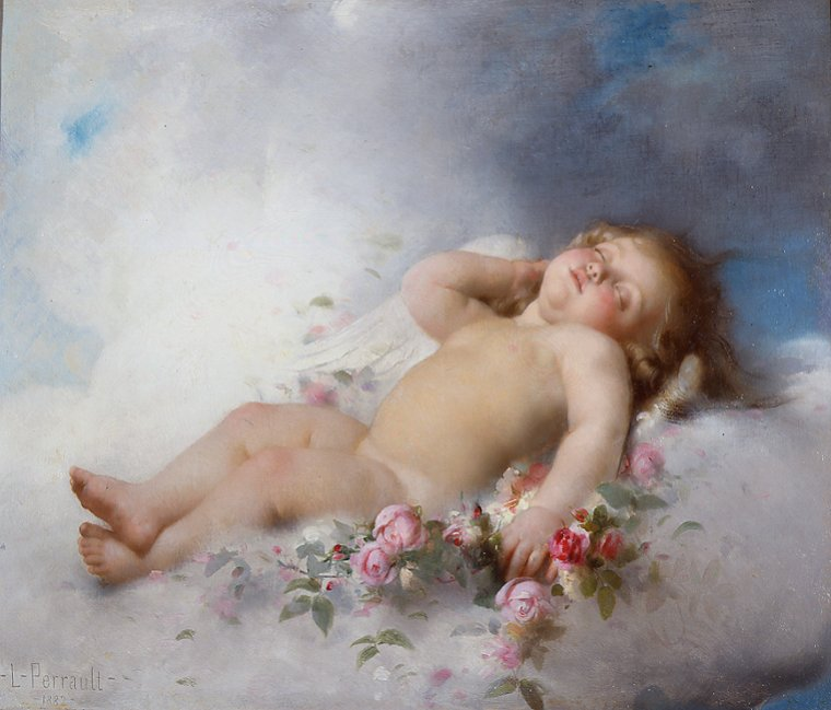 2 tableaux de Léon Jean Basile Perrault  (1832-1908)