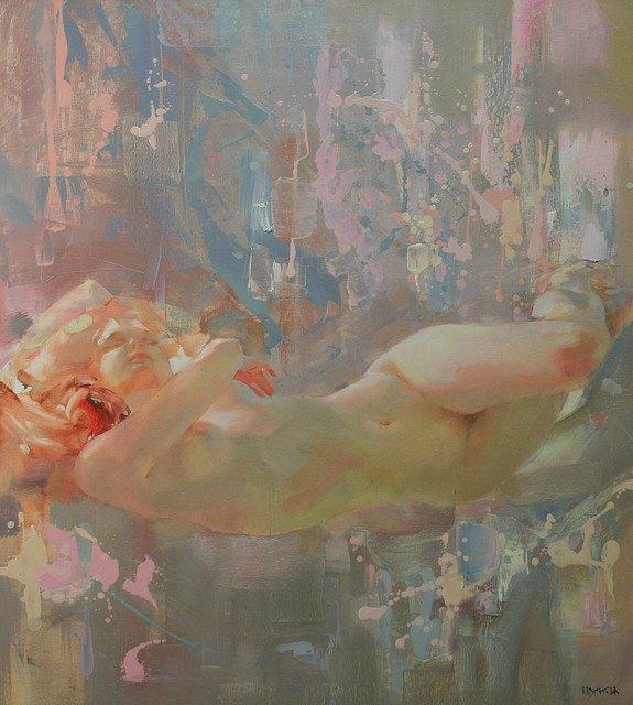 Ina Tsukakhina  ,  Lilac dream   /  Julia Ciccarone ,  Grounded (2005) ,  artistes contemporaines