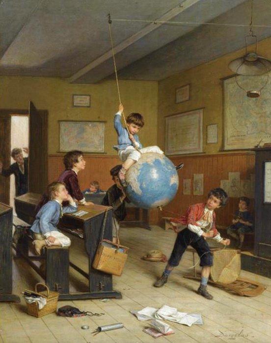 André Henri   DARGELAS    (1828-1906)   , ça commence... !   :-)