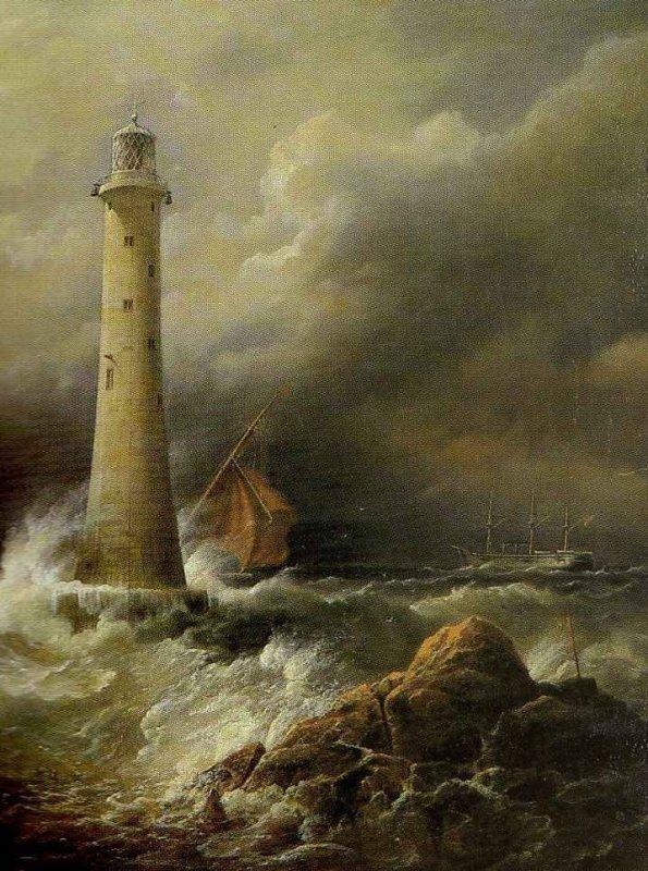 Captain Richard Brydges Beechey  (1808-1895)   ,  c'est un fâmeux trois mâts...
