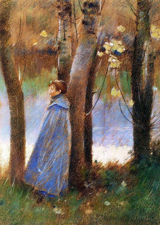 Automne... Theodore  ROBINSON  (1852-1896)