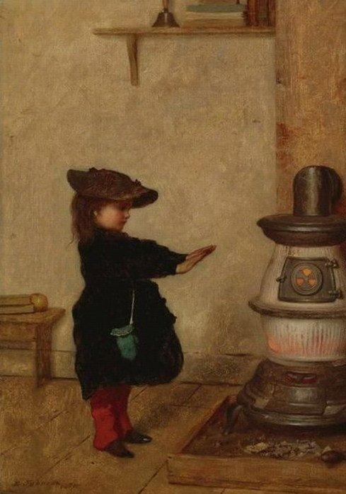 METEO  DU  JOUR ... ,  Eastman  JOHNSON   (1824-1906)