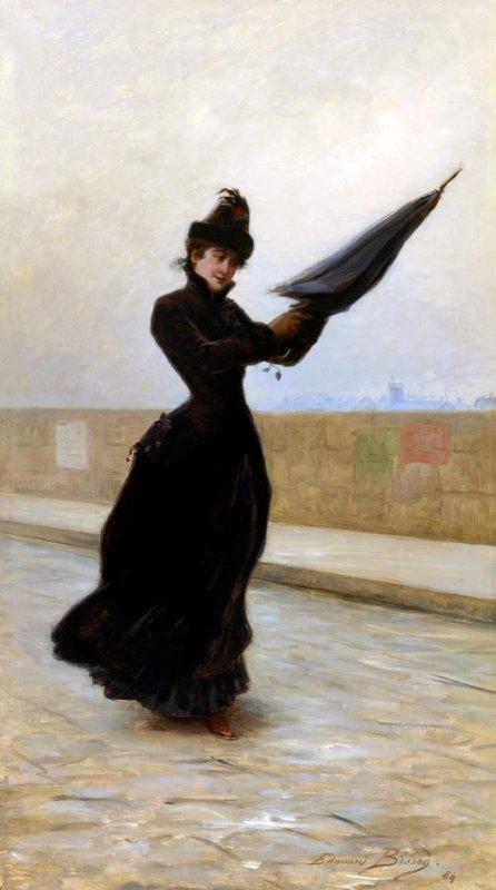 Météo du jour....  Edouard  BISSON  (1856-1939)