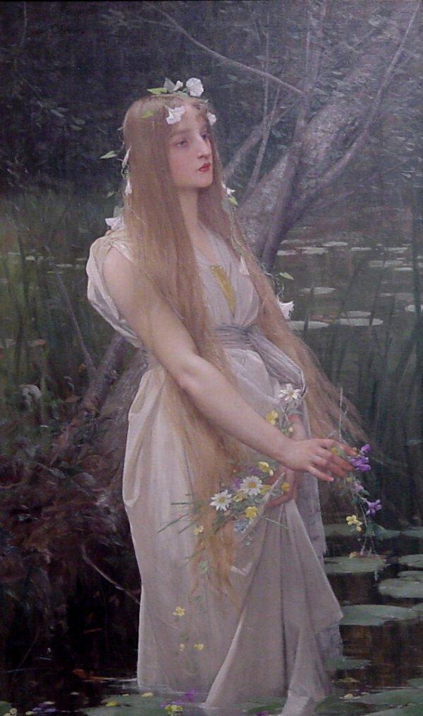 """""""S'il pleut à la Sainte Pétronille,pendant quarante jours elle mouille ses guenilles"""" ...  /   La mort d' Ophélie ..."""