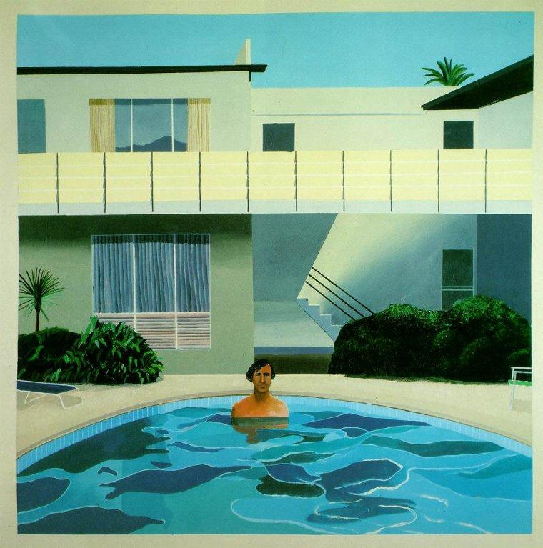 Météo du jour...:    David  HOCKNEY , peintre anglais né en 1937