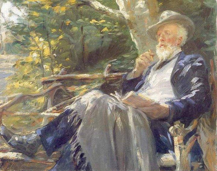 COUP  DE  COEUR  ...  Peder Severin KROYER   (1851-1909)  , école de Skagen