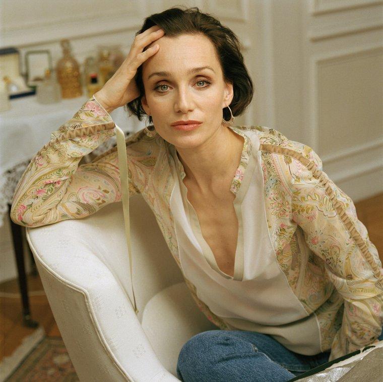 Bonne fête aux Christine... Kristin Scott Thomas , actrice d'origine anglaise