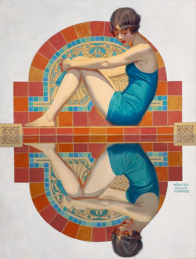 Walter Beach Humphrey  (1892-1966)   :  Reflection  (1929)