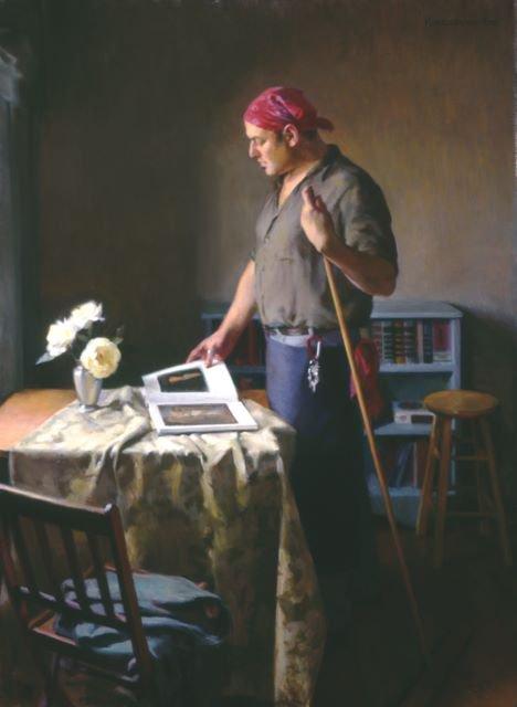 Douglas  KINGSBURY  ,  peintre contemp.