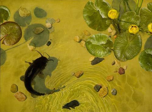 Jeffrey  RIPPLE , peintre américain contemp.   /   via artodyssey  ( merci )