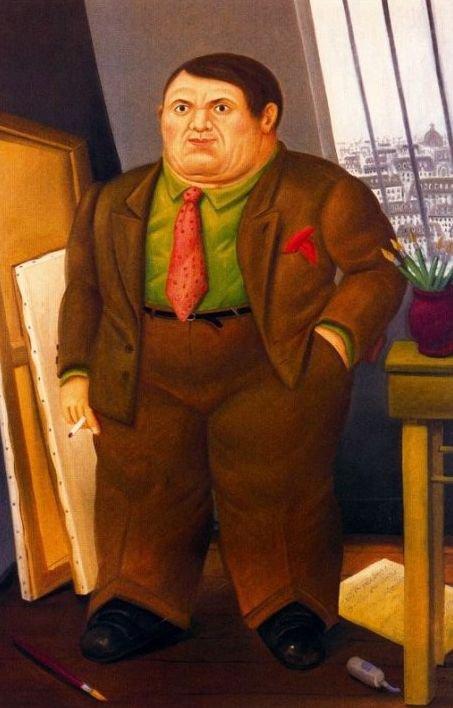 Picasso en 1930 par Fernando BOTERO  , artiste colombien contemp... gonflé !
