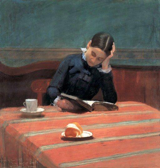 Semaine internationale du livre . . . William  SCOTT OF  OLDHAM   (1857-1900)    / 1884