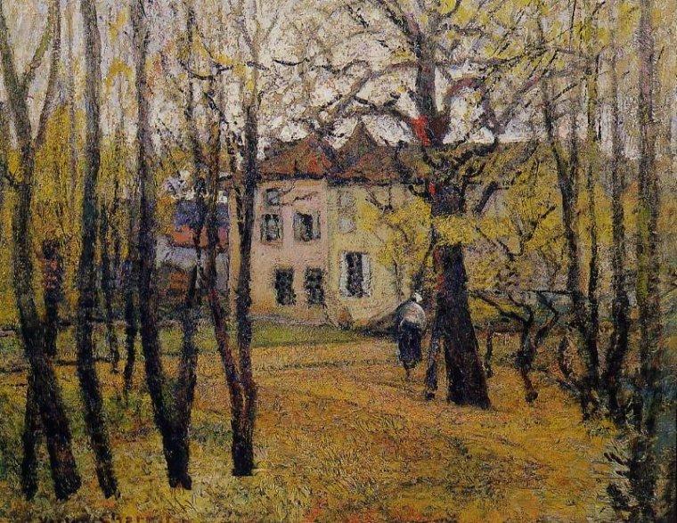 Temps de saison... Victor  CHARRETON  (1864-1936)