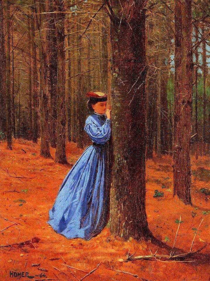 Peintures d' automne avec Winslow  HOMER  (1836-1910)