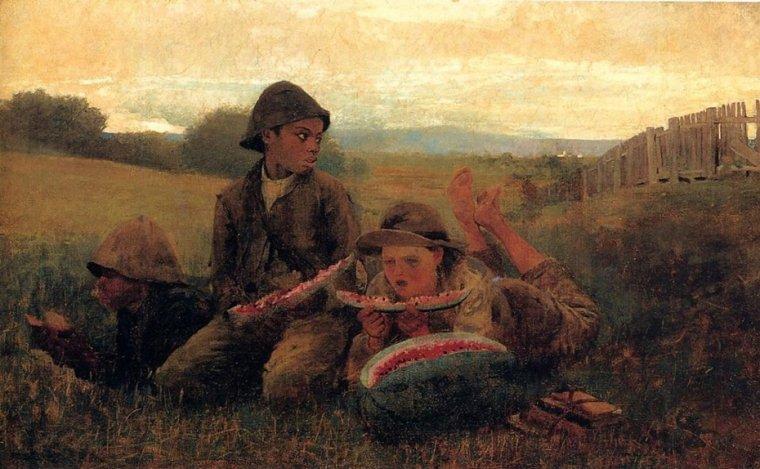 Pour Liseur-liseuse ... :   Winslow  HOMER  (1836-1910)