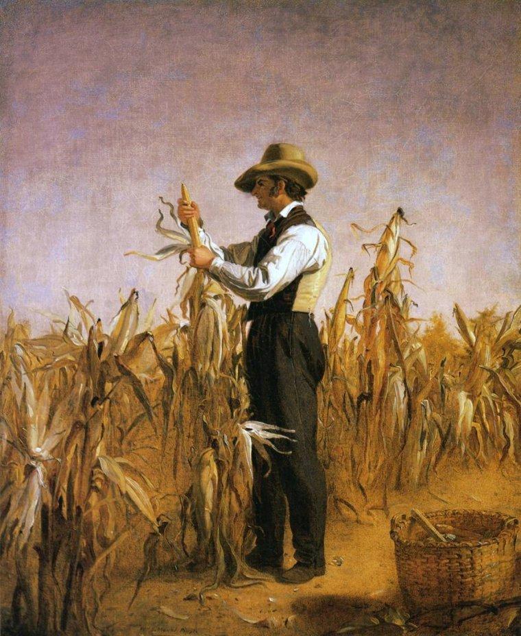 Clin d' oeil à Dan...    :     Thomas Waterman  WOOD  (1823-1903)  /  William Sidney  MOUNT  (1807-1868)