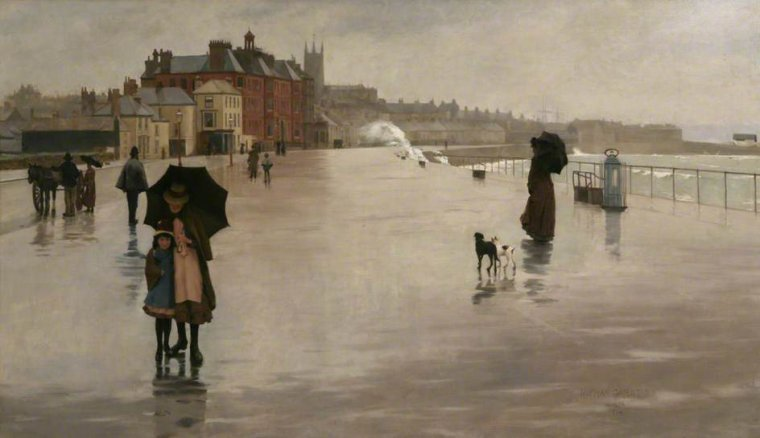 Météo du jour  ...Norman  GARSTIN  (1847-1926)  /  1889