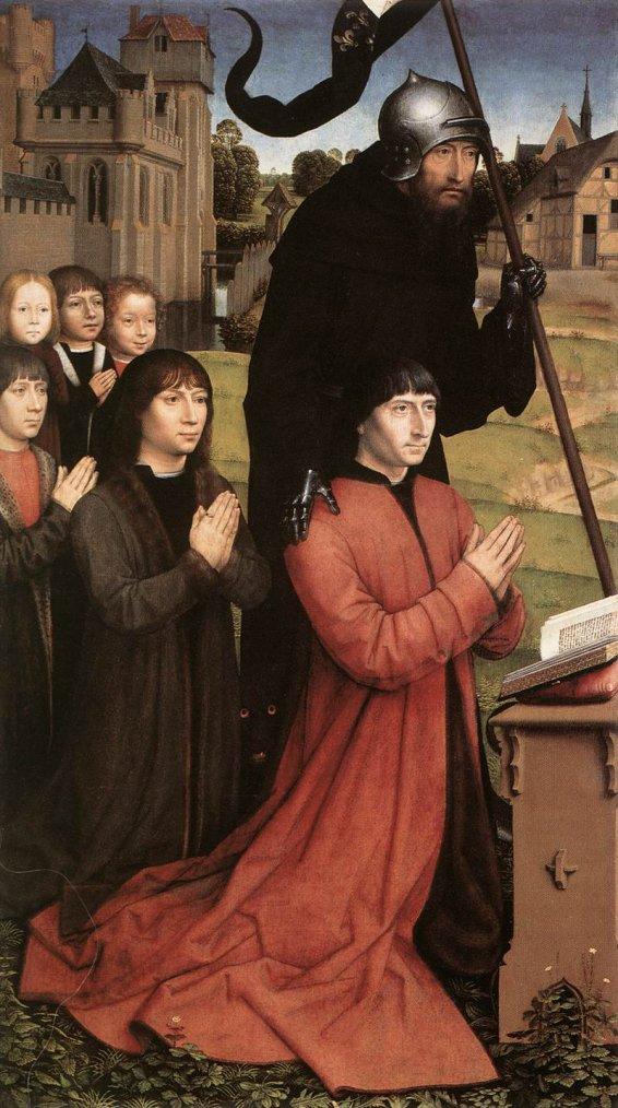 4 tableaux de Hans  MEMLING    (ca 1435-1494)