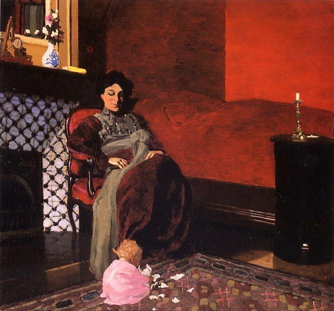Un artiste que j' adore  :  Félix  VALLOTTON  (1865-1925)  ,  peintre suisse