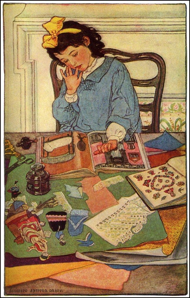 Elizabeth  SHIPPEN  GREEN , illustratrice américaine  (1871-1954)