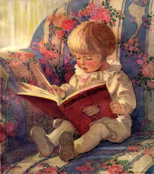 Jessie WILCOX  SMITH  ,  illustratrice américaine   (1863-1935)