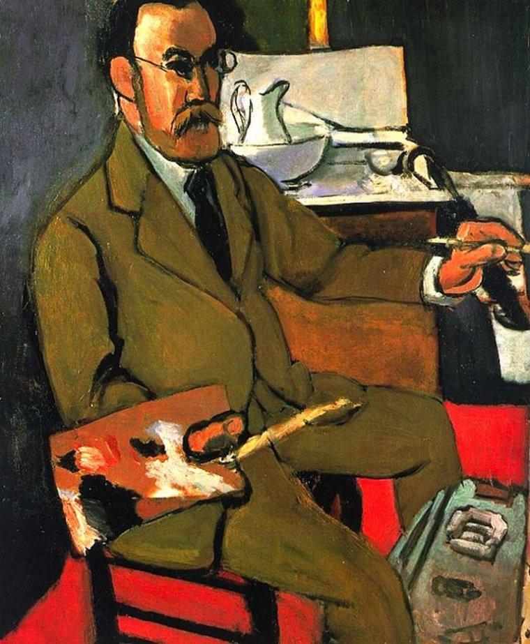 3  tableaux de HENRI MATISSE (1869-1954)  , un de mes peintres préférés...,  merci Liseuse-Liseur   :-)