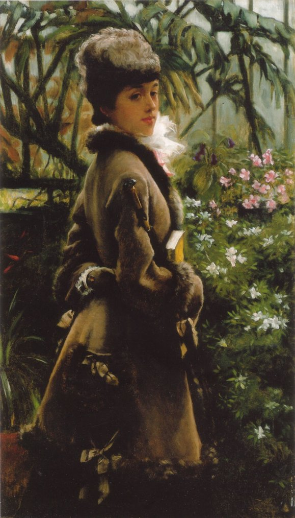 2 tableaux de James  TISSOT  (1836-1902)