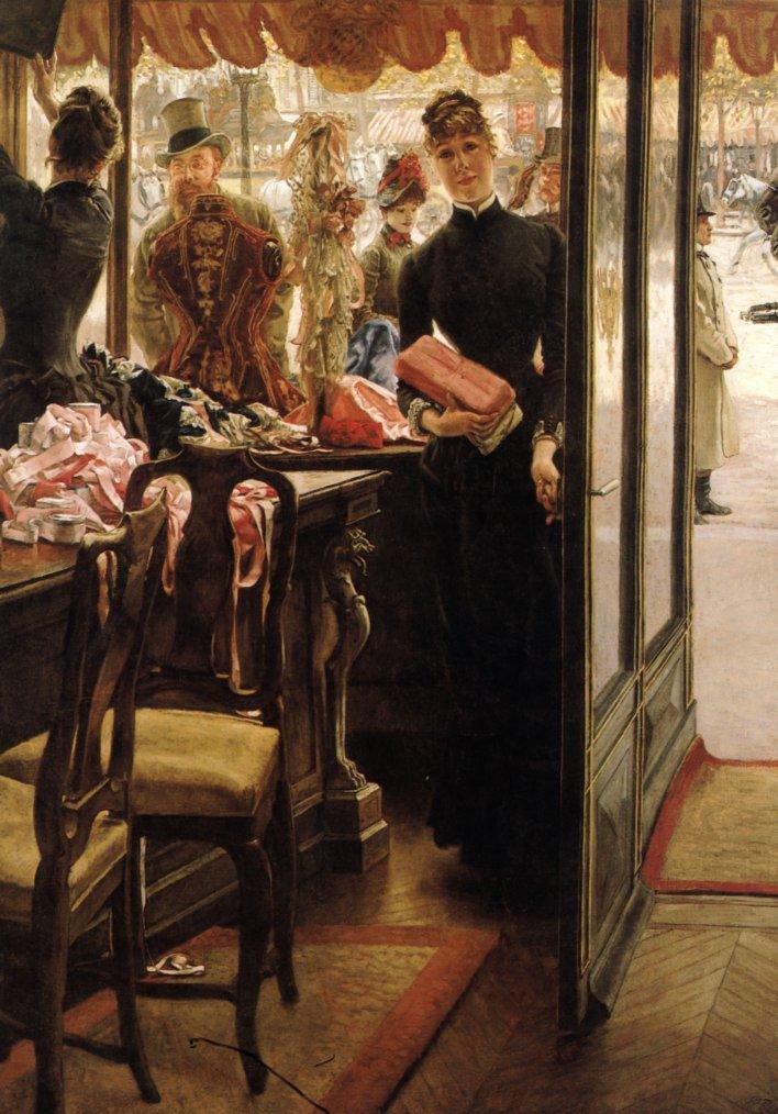 Shopping avec... James  TISSOT  (1836-1902)
