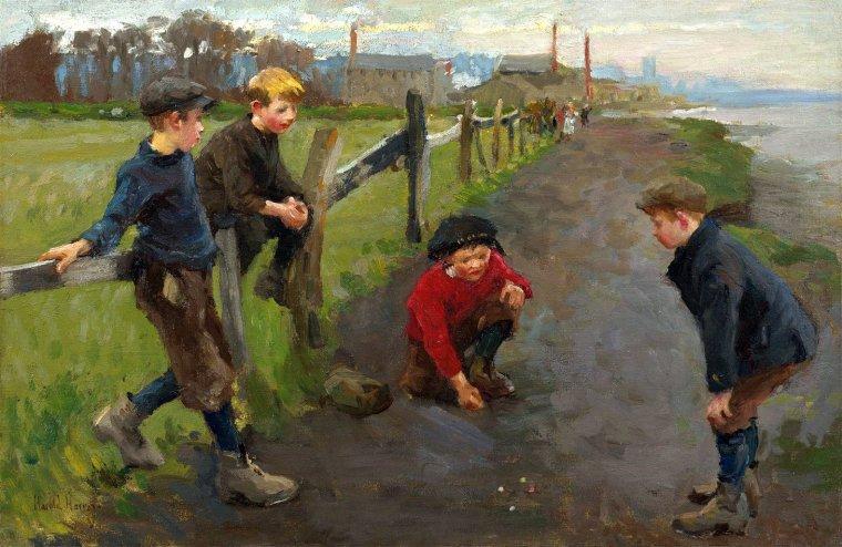 Harold  HARVEY  (1874-1941) ,  Newlyn School