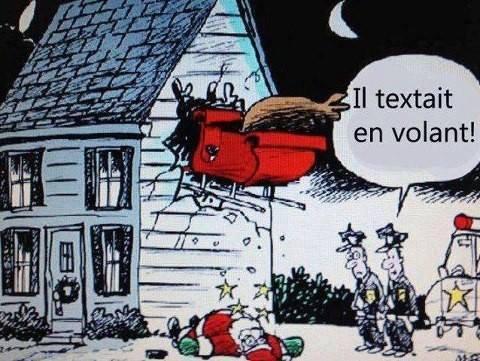 Le Père Noël arrivera-t-il à temps à bon port  ?