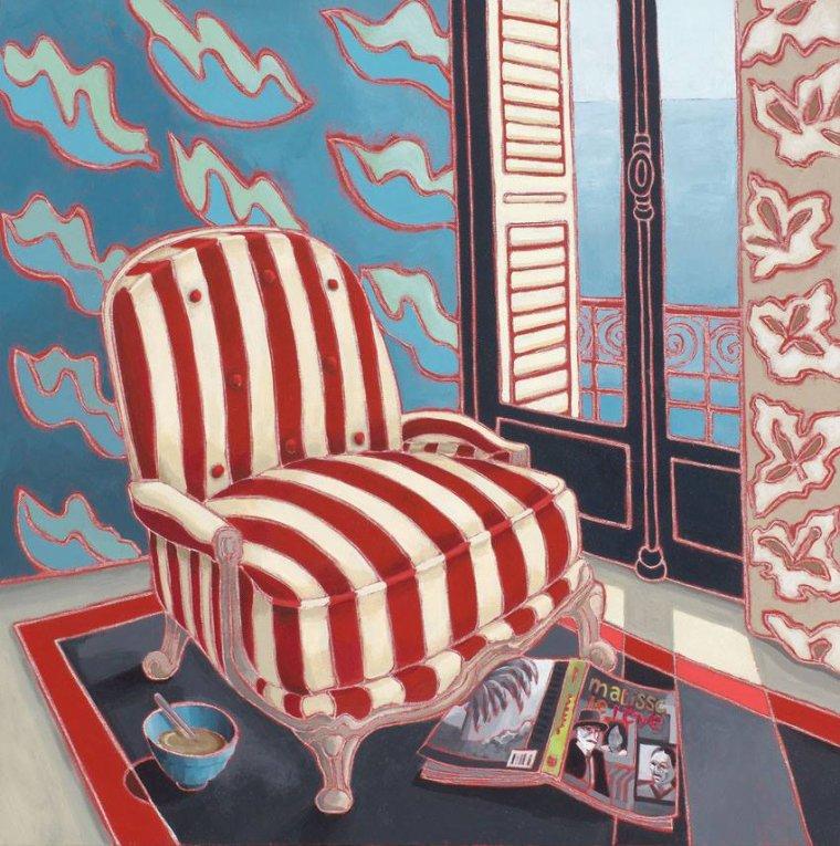COUP DE COEUR   :    Jilly BALLANTYNE  ,  peintre écossaise contemporaine
