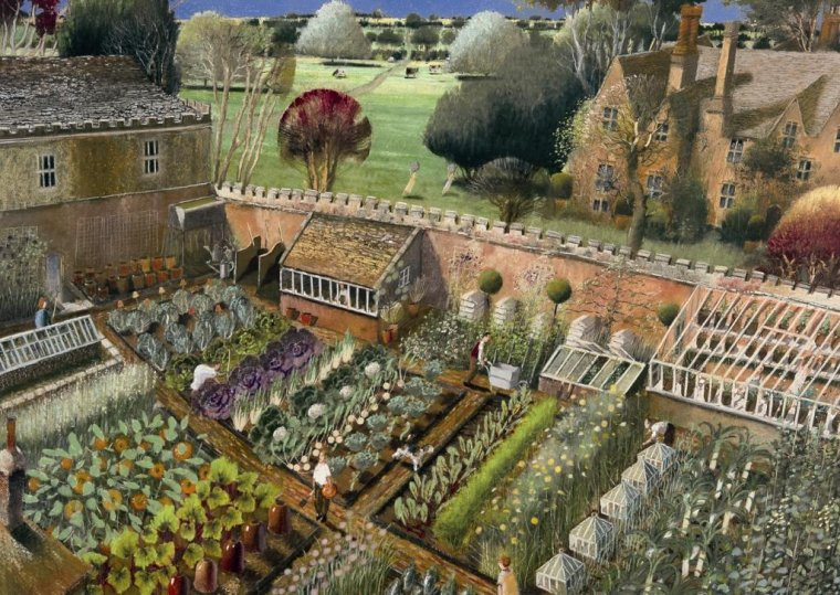 COUP DE COEUR   :    Richard  ADAMS  ,  peintre anglais contemporain
