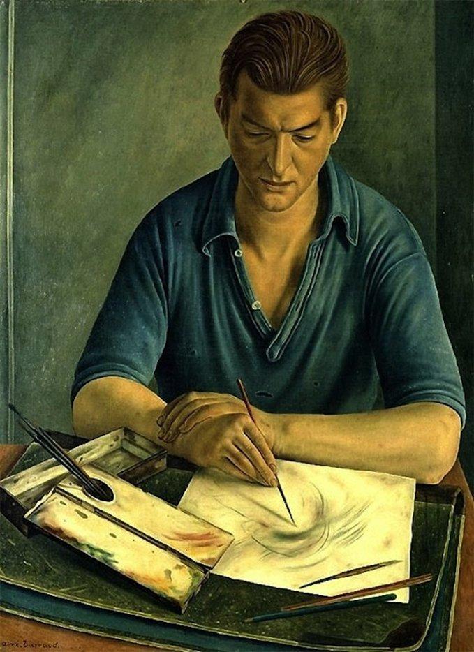 François-Emile  BARRAUD  (1899-1934)  , merci à LISEUSE-LISEUR de m'avoir fait connaître ce peintre   :-)
