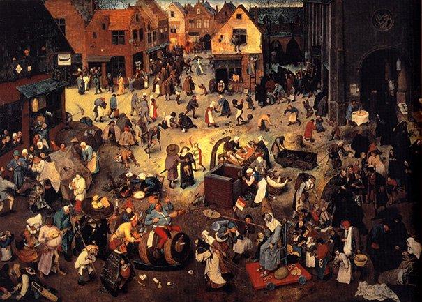 Ménage . . . ( Van Gogh / Bruegel )   :-)
