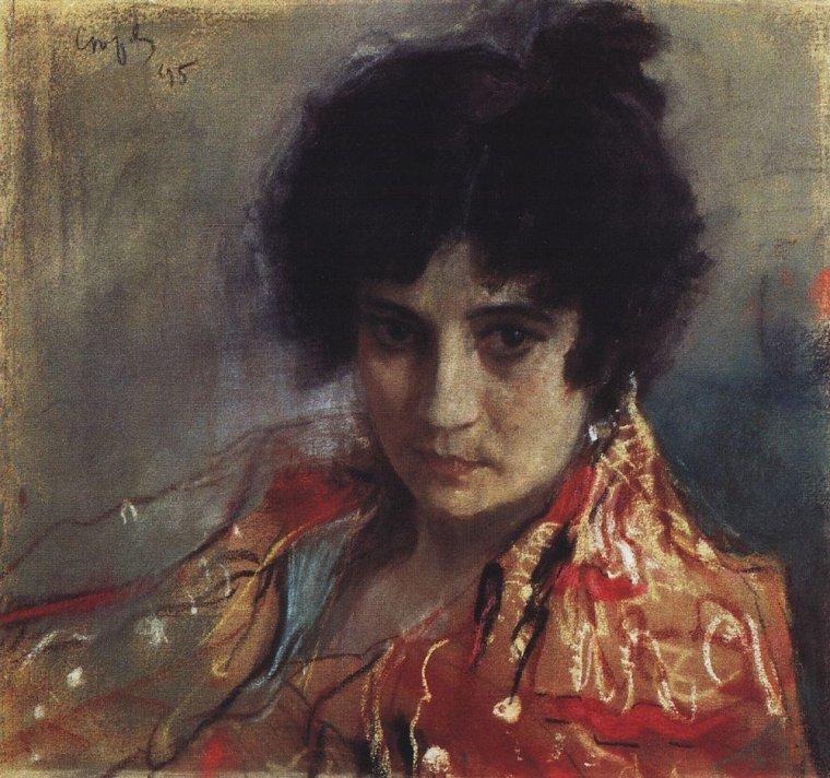 Valentin  SEROV  (1865-1911) , portraitiste russe talentueux . . .