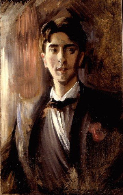 Portrait de Jean Cocteau par Federico  DE  MADRAZO  Y  OCHOA  (1875-1935)