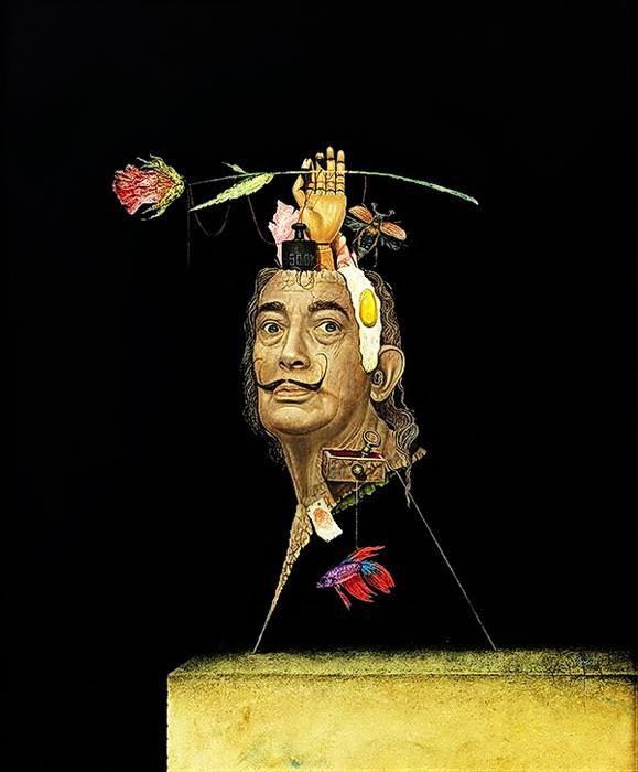 Clin d'oeil à Il était une fois Ysambre   ;-)   :  Frank  KORTAN  ,  peintre allemand né en 1964.