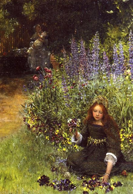COUP DE COEUR   :    Laura Theresa  ALMA-TADEMA   (1852-1909)