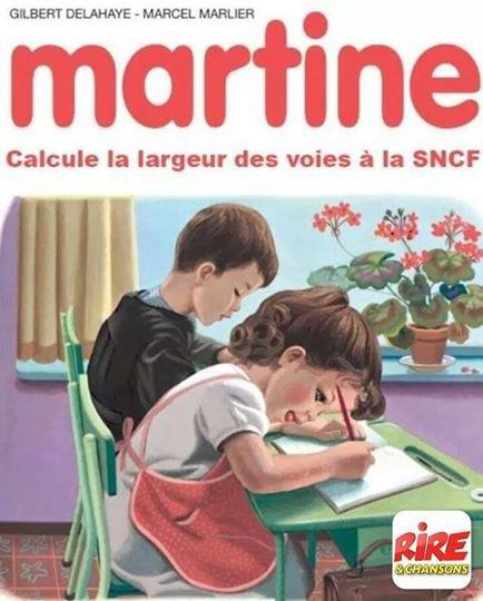 La bourde de la SNCF. . . ( au choix : Sans Nous C'est Foutu OU Sur Neuf Cinq Fainéants)