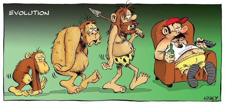 """ Celui qui n'évolue pas disparaît. ""  Charles Darwin"