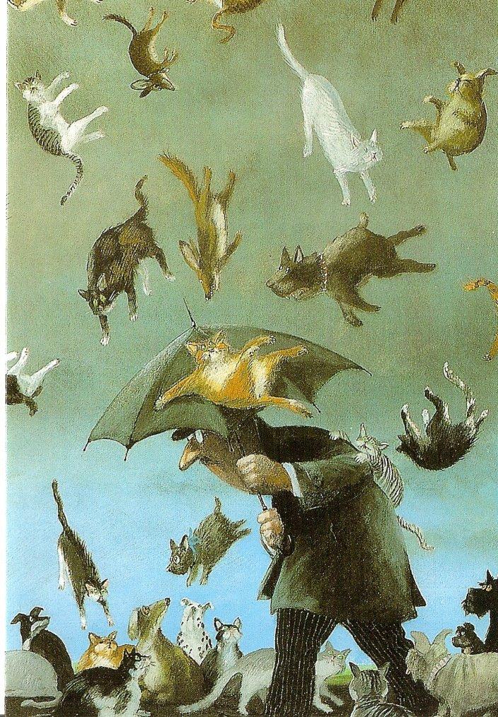METEO  DU  JOUR ...   Peinture de Gerhard Glück