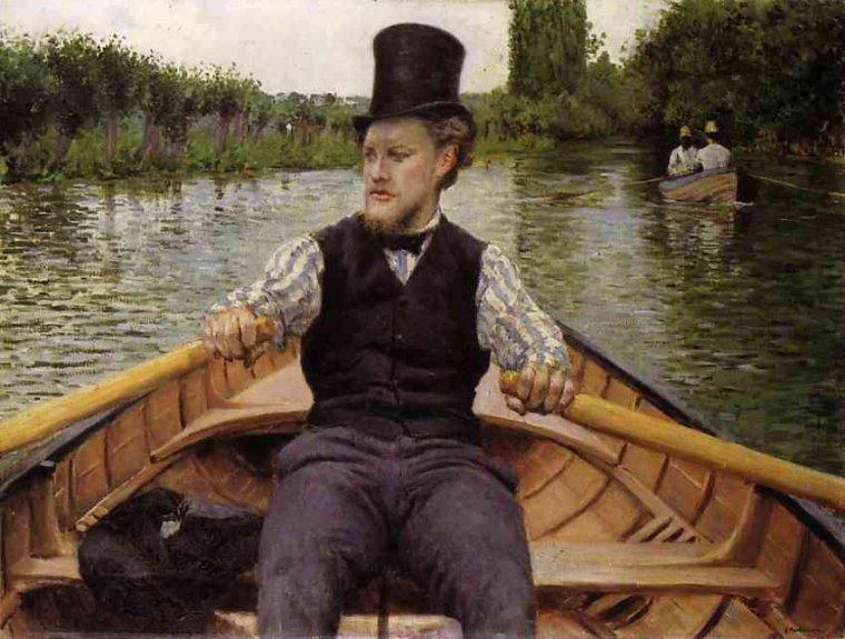 Un peu de fraîcheur ? ...  Gustave Caillebotte  (1848-1894)