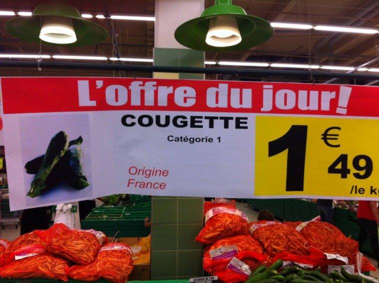 """Promotion sur les """"R"""" chez Auchan ... MD...  !   :-)"""